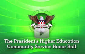Giving Back: Community Colleges on the President's Honor Roll for Community Service