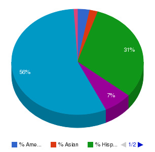 New Mexico State University-Alamogordo Ethnicity Breakdown