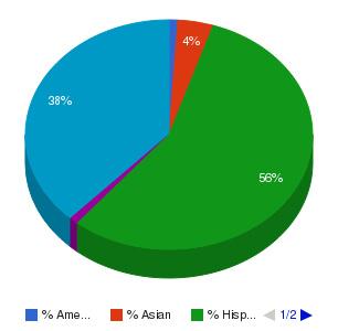 ITT Technical Institute-Clovis Ethnicity Breakdown