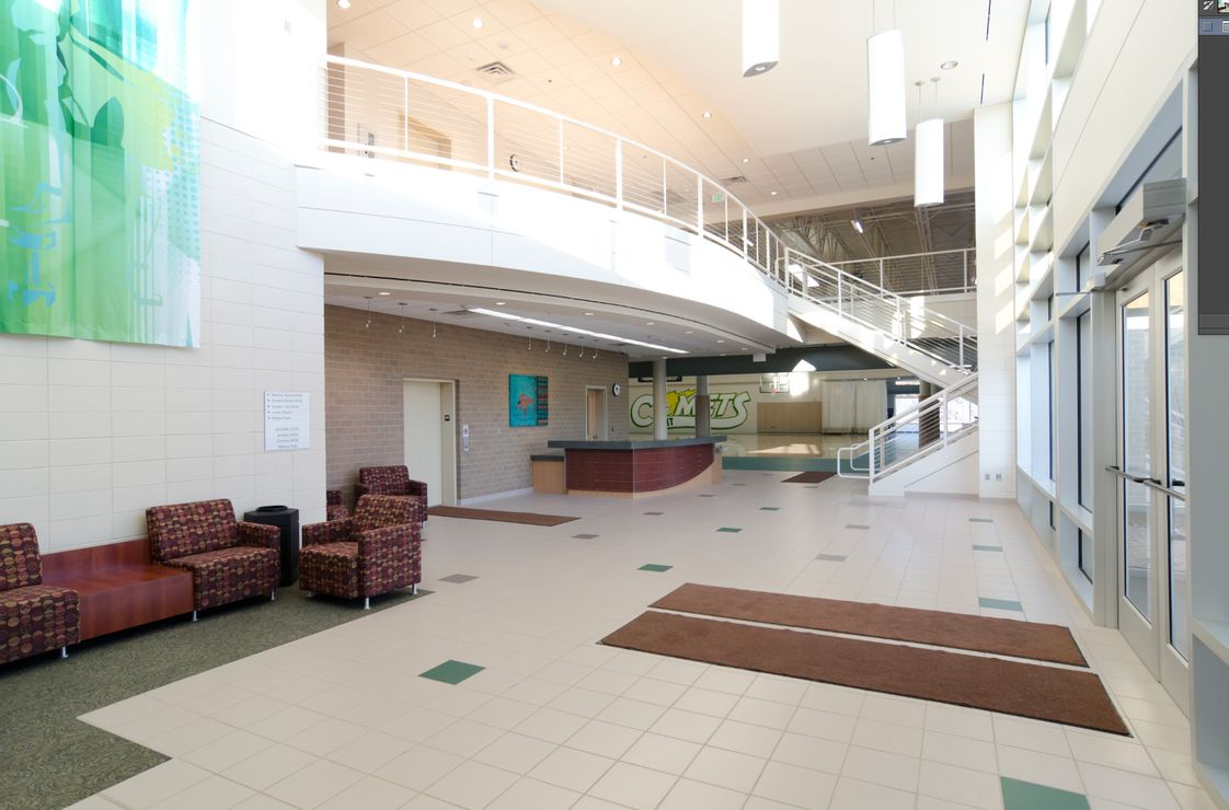 Western Iowa Tech Community College Photo #1 - The Dr. Robert E. Dunker Student Center is a hub for campus activities, intramural sports, clubs, weight room, track, open courts & more! All free to use as a student at WITCC.