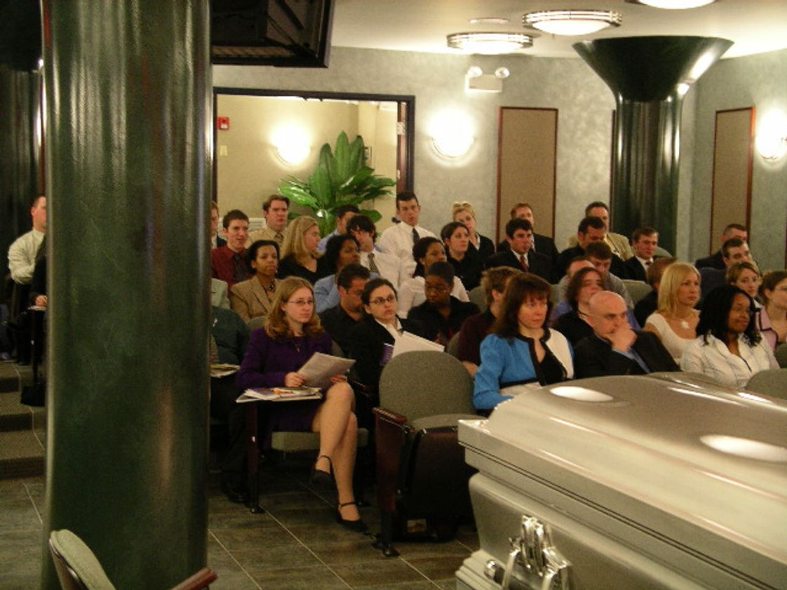 Pittsburgh Institute of Mortuary Science Inc Photo #1 - Students attend presentation by one of many well-known speakers