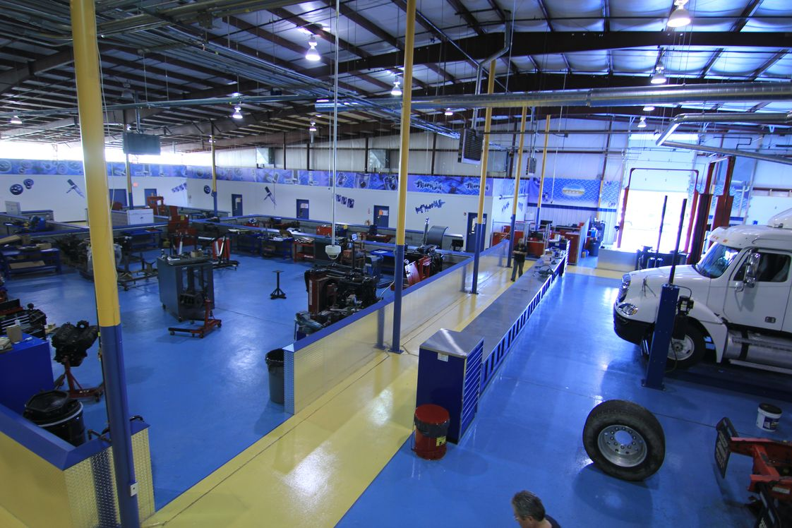Rosedale Technical College Photo #1 - The Ben Wilke Training Center which houses the Diesel, Truck Driving and Welding labs.