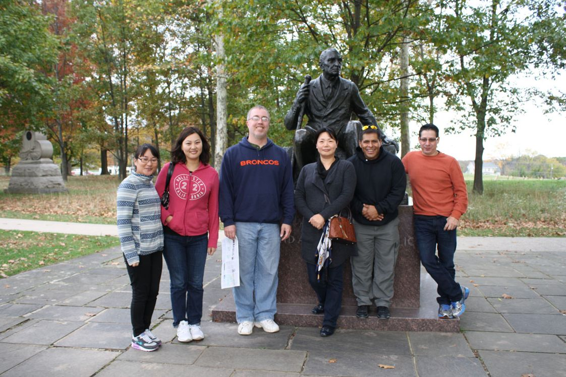 American National University Photo #1 - ESL Students take cultural immersion trip to Pennsylvania.