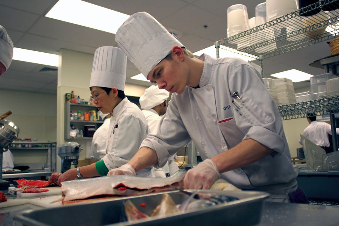 Edmonds Community College Photo - Edmonds Community College's Culinary Arts prepares students for positions as cooks, kitchen managers, servers and hosts. The college's newest offering is a one-year Baking certificate.
