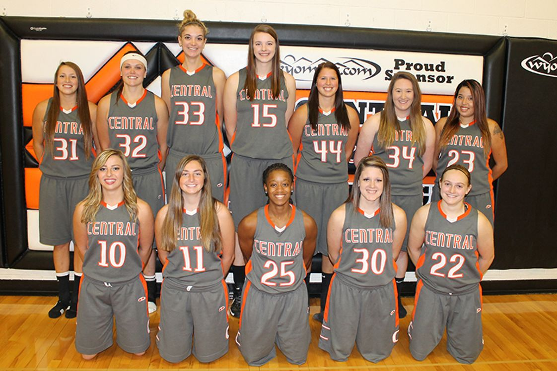 Central Wyoming College Photo - CWC Women's basketball