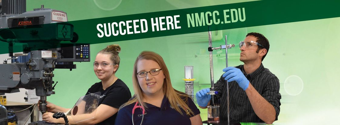 Northern Maine Community College Photo - NMCC. Succeed Here.