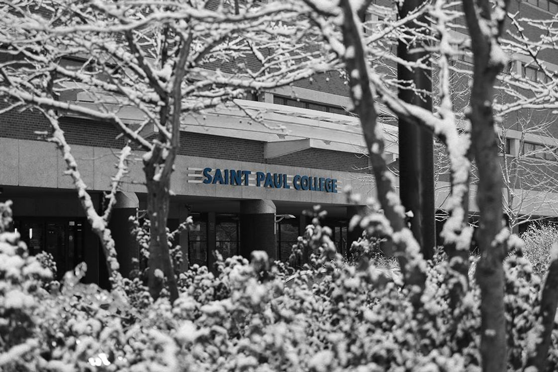 Saint Paul College A Community & Technical College Photo - Another snowy day at Saint Paul College as we prepare for spring semester to start!