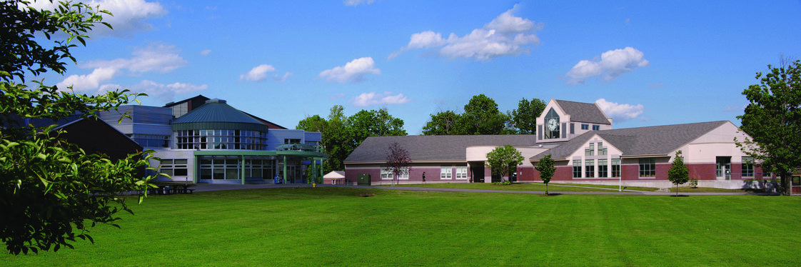 NHTI-Concord's Community College Photo - NHTI's Student Center, Wellness Center and Library, on the Quad