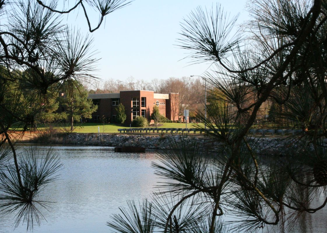 Richmond Community College Photo - View from the lake