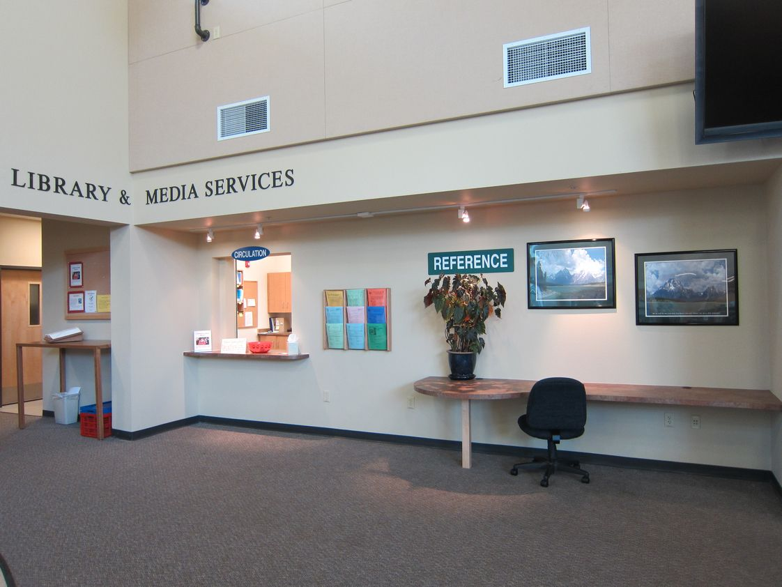 Oregon Coast Community College Photo #1 - OCCC Library and Media Services entrance.