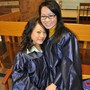 Lakeshore Technical College Photo #4 - Two students prepare for May 2010 graduation from LTC.