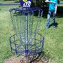 Lakeshore Technical College Photo #3 - A student plays disc golf on the LTC Disc Golf Course.